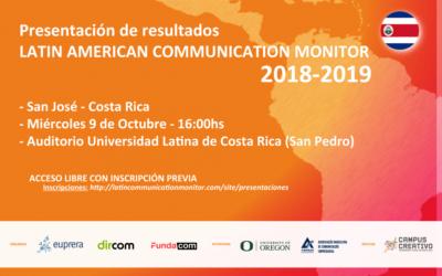 Presentación de los resultados del #LCM 2018-2019 en Costa Rica, San Pedro.