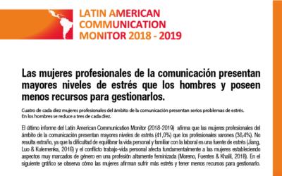Latin American Communication Monitor: #NoSinMujeres #GeneraciónIgualdad