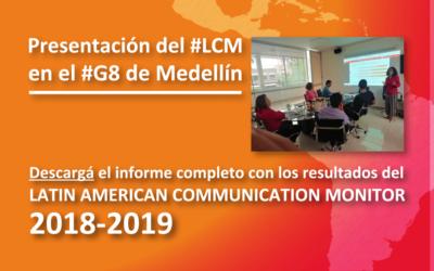 Presentación del #LCM en el #G8 de Medellín