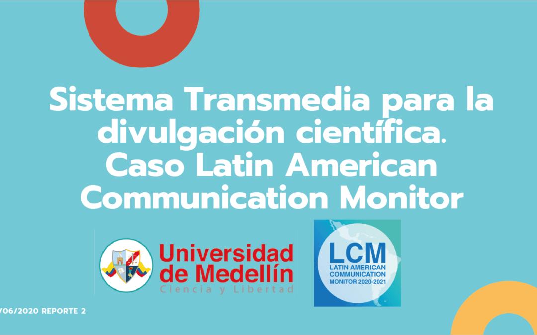Transmedia LCM, un Caso de Innovación conjunto entre la Universidad de Medellín y el LCM.